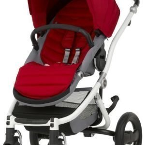 Britax Affinity 2 2016 Rattaat White/Flame Red Paketti