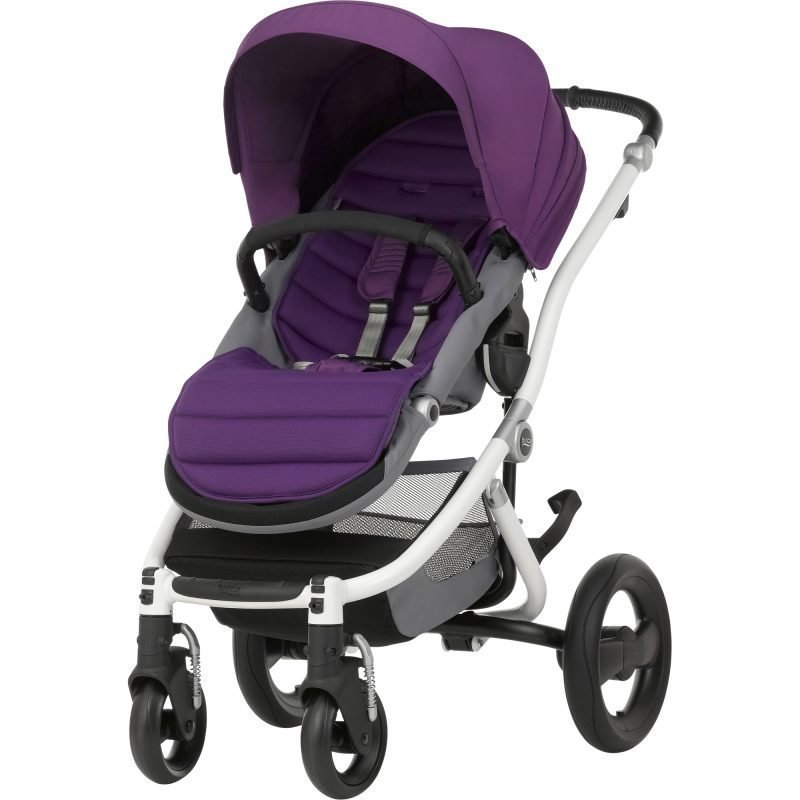 Britax Affinity 2 2016 Rattaat White/Mineral Lilac Paketti