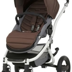 Britax Affinity 2 2016 Rattaat White/Wood Brown Paketti