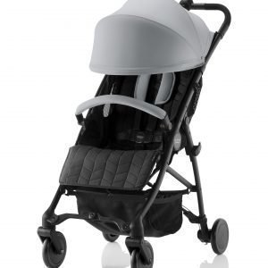 Britax B Lite Matkarattaat Steel Grey