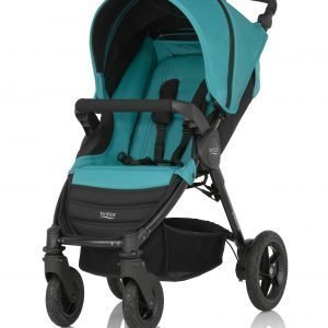 Britax B Motion 4 Matkarattaat Lagoon Green