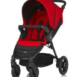 Britax B Motion 4 Rattaat Flame Red / Punainen