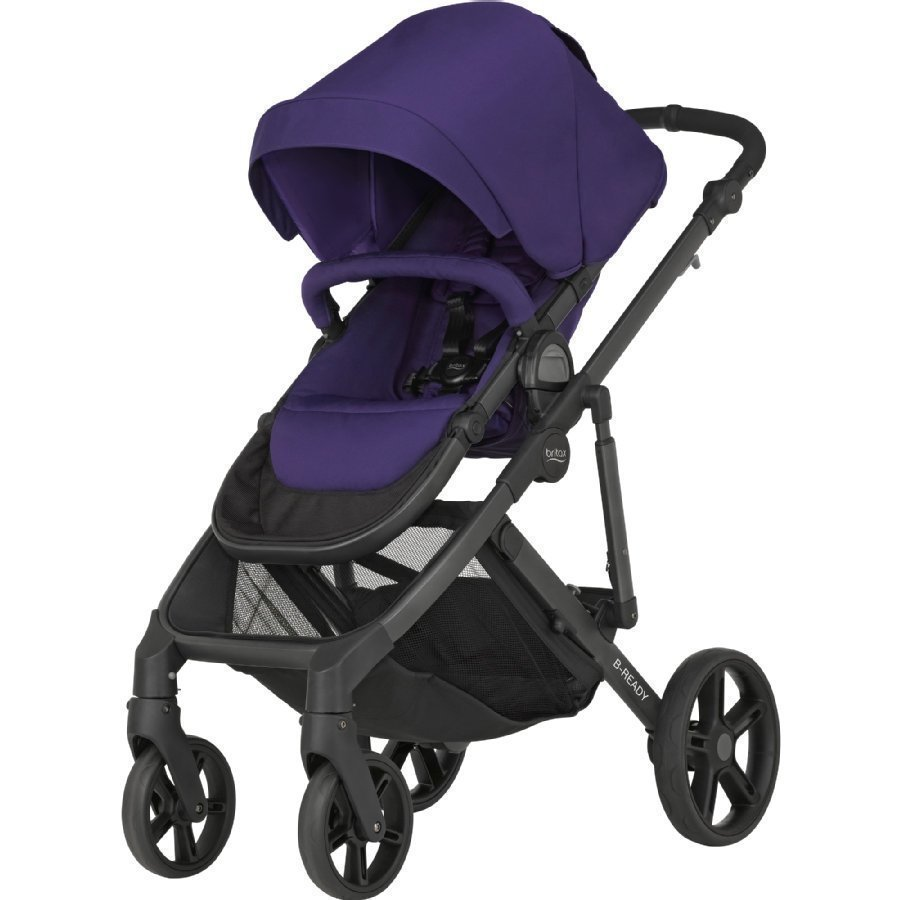 Britax B Ready Mineral Purple Yhdistelmärattaat