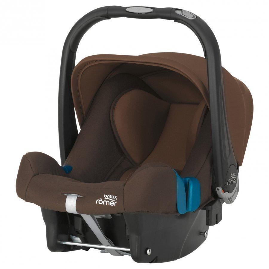 Britax Baby-Safe Plus Shr Ii Wood Brown Turvakaukalo 0-13 Kg