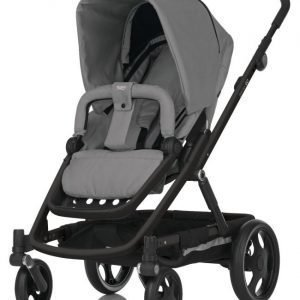 Britax Go 2015 Rattaat Black/Charcoal Grey