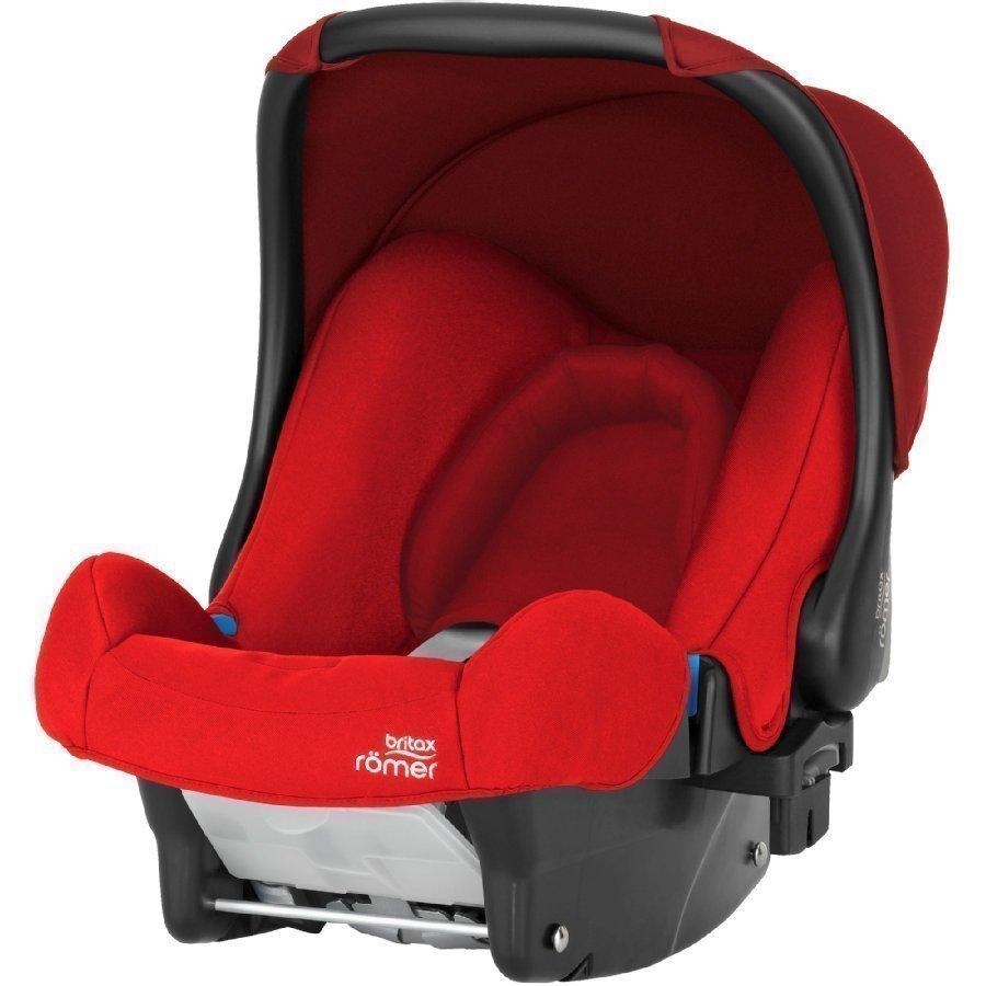 Britax Römer Baby Safe Flame Red Turvakaukalo