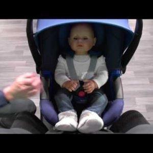 Britax Römer Baby Safe I Size Cosmos Turvakaukalo Musta