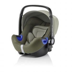 Britax Römer Baby Safe I Size Turvakaukalo Olive Green