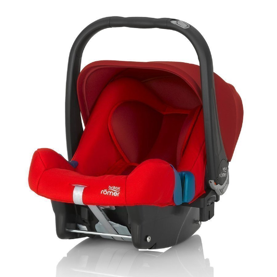 Britax Römer Baby Safe Plus Ii Flame Red Turvakaukalo