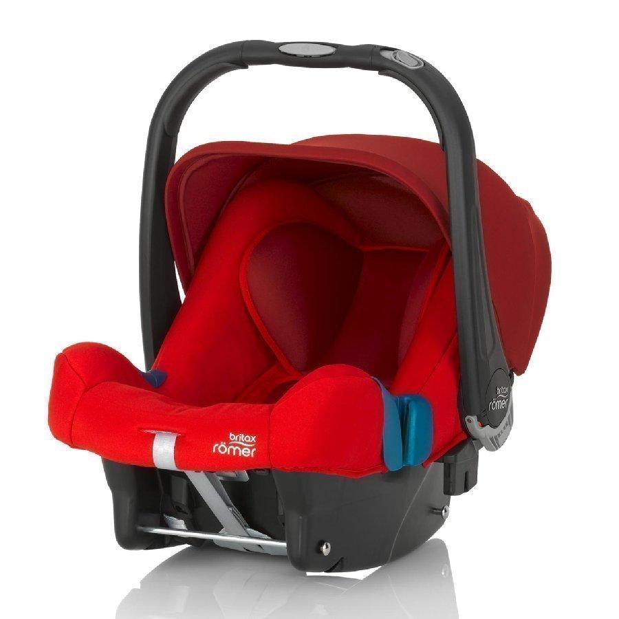 Britax Römer Baby Safe Plus Shr Ii Flame Red Turvakaukalo
