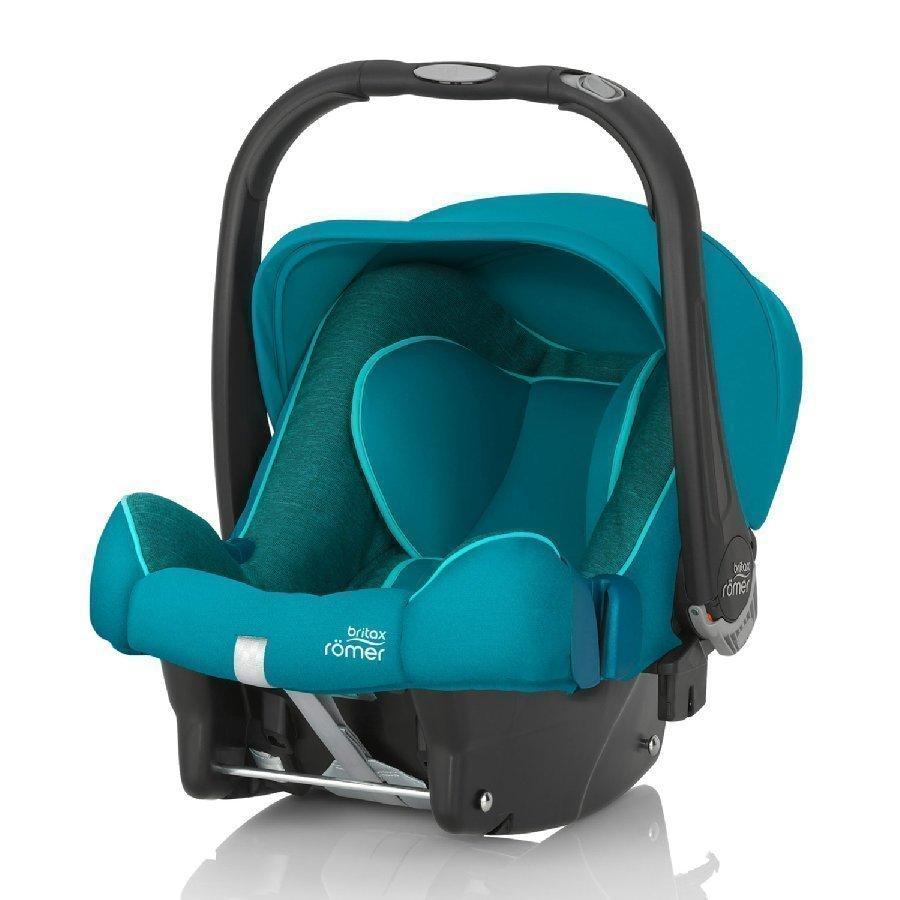 Britax Römer Baby Safe Plus Shr Ii Green Marble Turvakaukalo