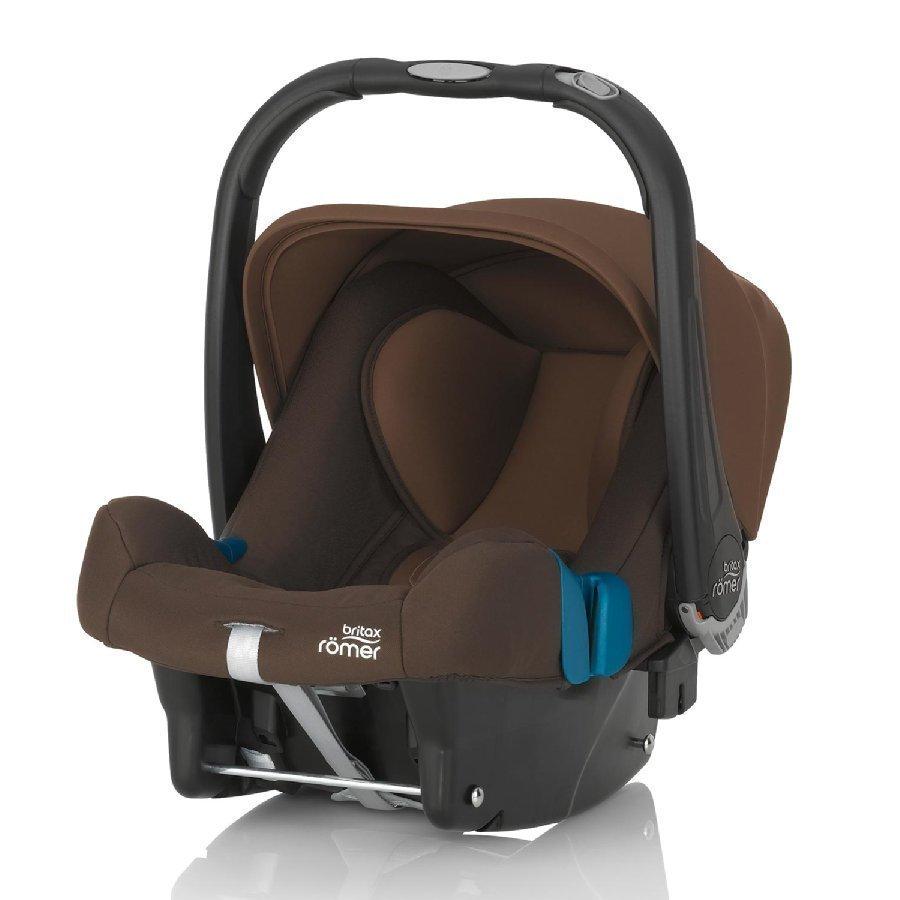 Britax Römer Baby Safe Plus Shr Ii Wood Brown Turvakaukalo