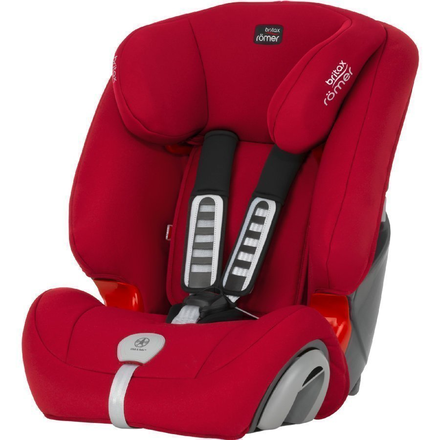 Britax Römer Evolva 123 Plus Flame Red Turvaistuin