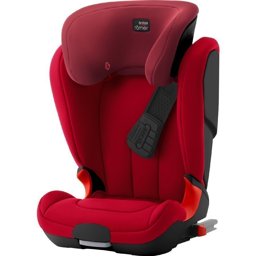 Britax Römer Kidfix Xp Black Series Flame Red Turvaistuin