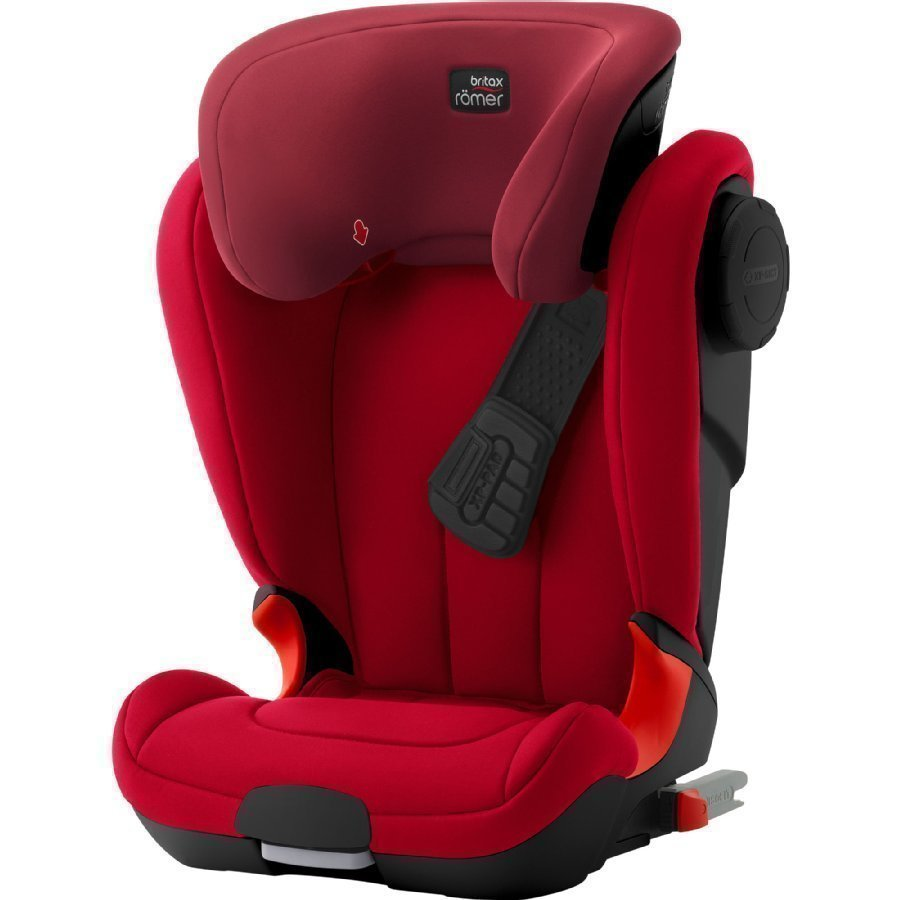 Britax Römer Kidfix Xp Sict Black Series Flame Red Turvaistuin