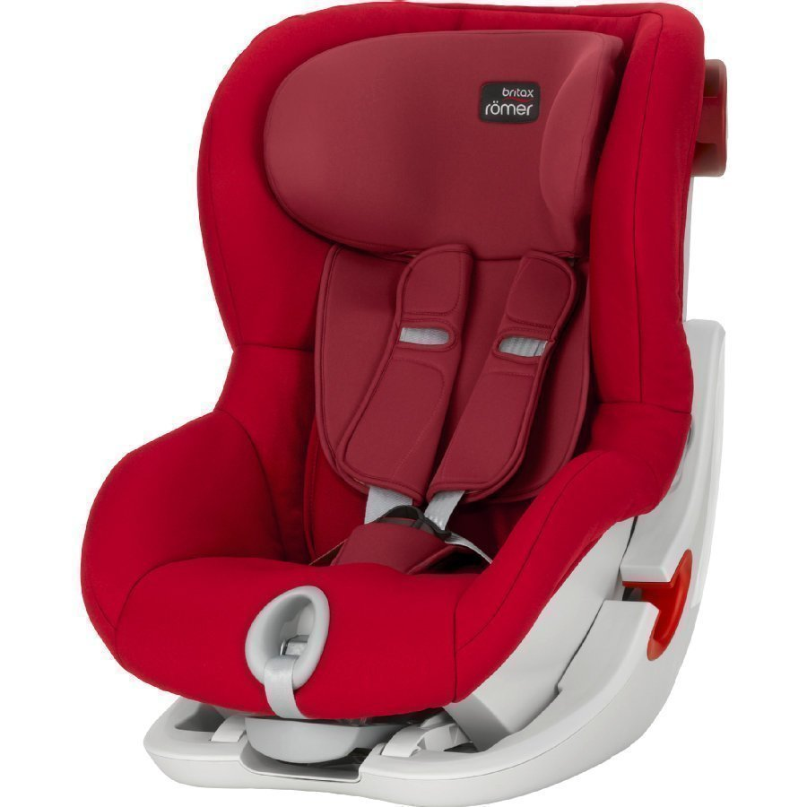 Britax Römer King Ii Flame Red Turvaistuin