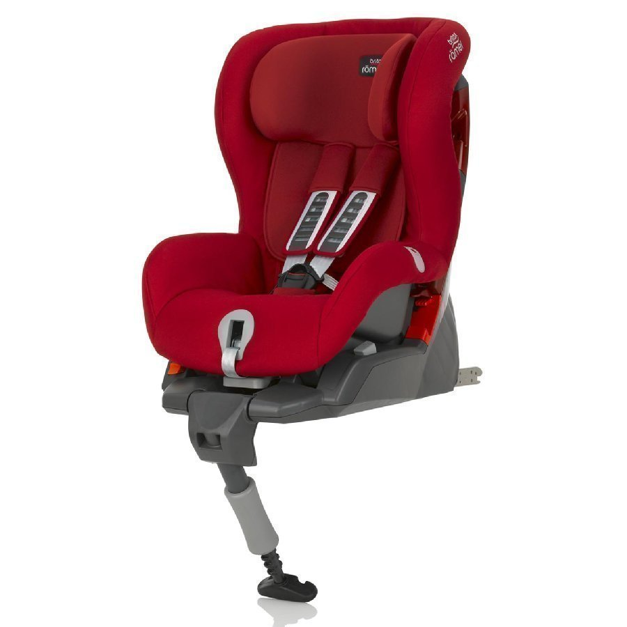 Britax Römer Safefix Plus Flame Red Turvaistuin