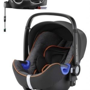 Britax Römer Turvakaukalo BabySafe + Kiinnitysjalusta i-Size Black Marble