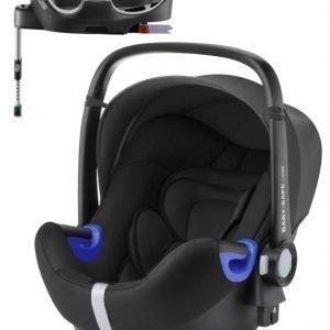 Britax Römer Turvakaukalo BabySafe + Kiinnitysjalusta i-Size Cosmos Black