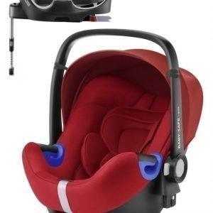 Britax Römer Turvakaukalo BabySafe + Kiinnitysjalusta i-Size Flame Red