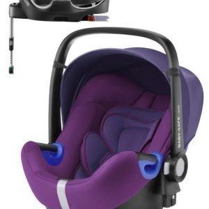 Britax Römer Turvakaukalo BabySafe + Kiinnitysjalusta i-Size Mineral Purple