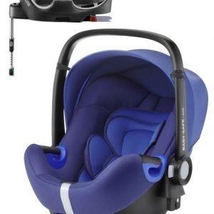 Britax Römer Turvakaukalo BabySafe + Kiinnitysjalusta i-Size Ocean Blue