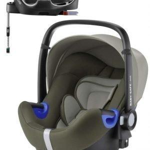 Britax Römer Turvakaukalo BabySafe + Kiinnitysjalusta i-Size Olive Green