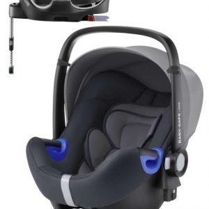 Britax Römer Turvakaukalo BabySafe + Kiinnitysjalusta i-Size Storm Grey