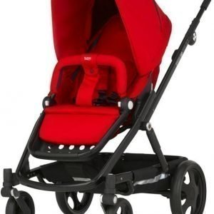 Britax Rattaat Go 2016 Black/Flame Red