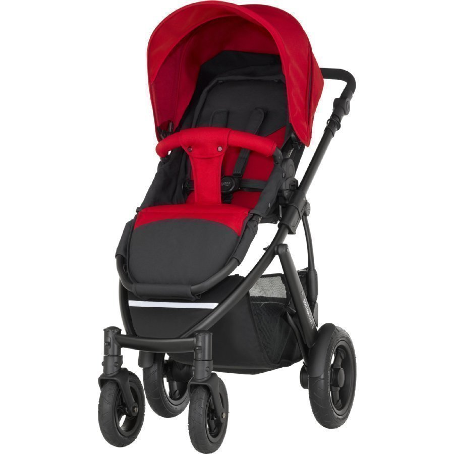 Britax Smile 2 Flame Red Lastenrattaat