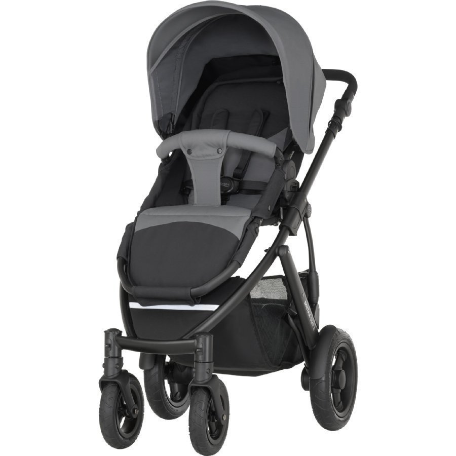 Britax Smile 2 Steel Gray Lastenrattaat