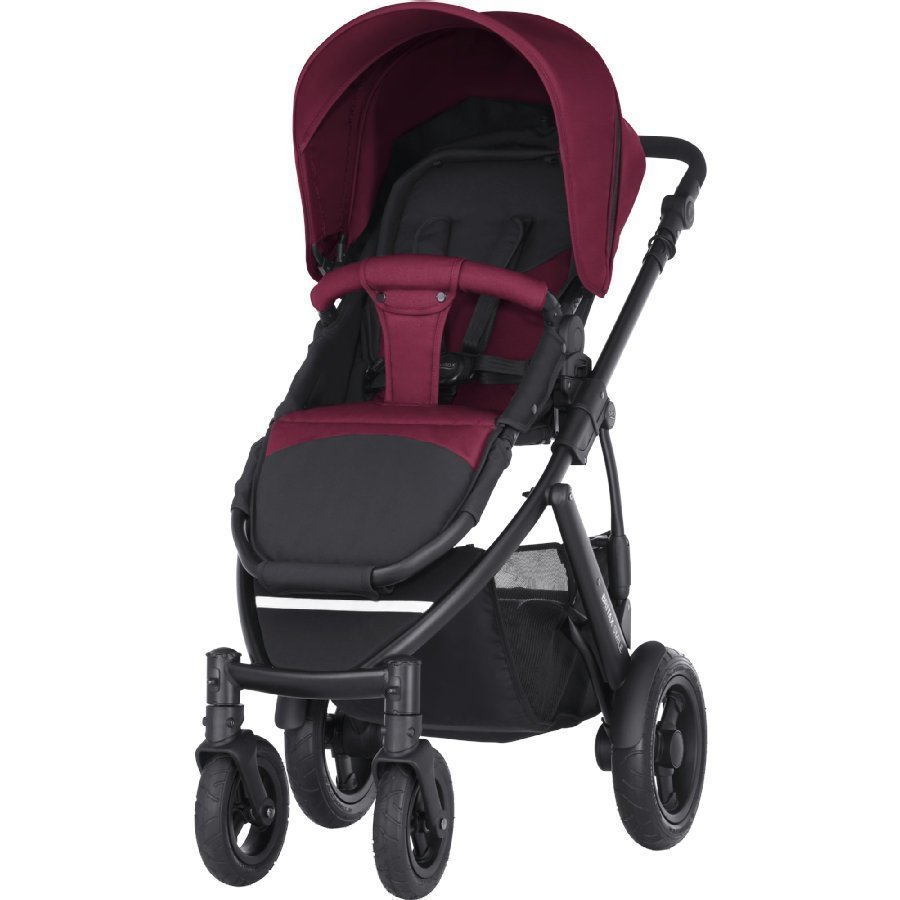 Britax Smile 2 Wine Red Lastenrattaat