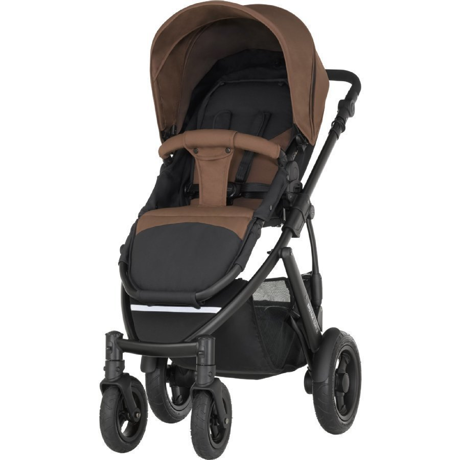 Britax Smile 2 Wood Brown Lastenrattaat