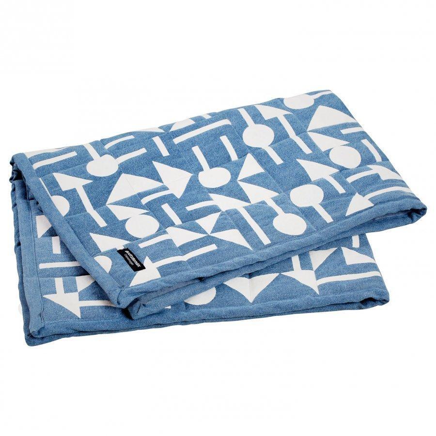 Budtzbendix Blanket Totem Denim Huopa
