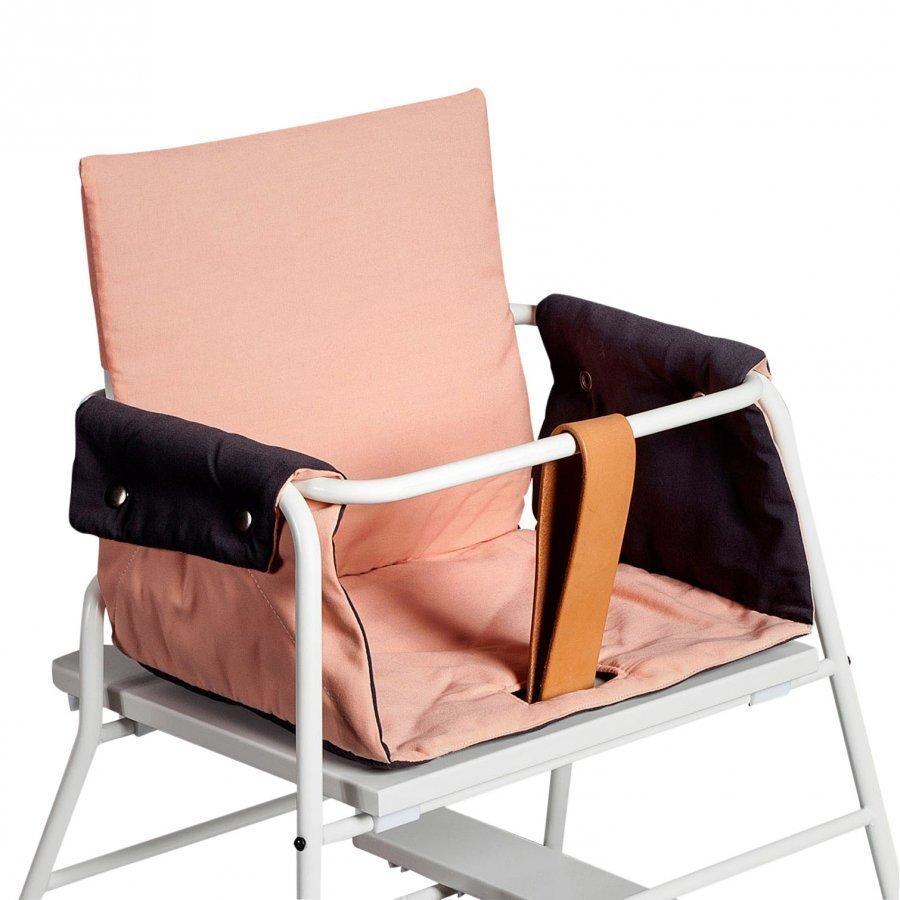 Budtzbendix Cushion Grey/Peach Syöttötuolin Istuintyyny