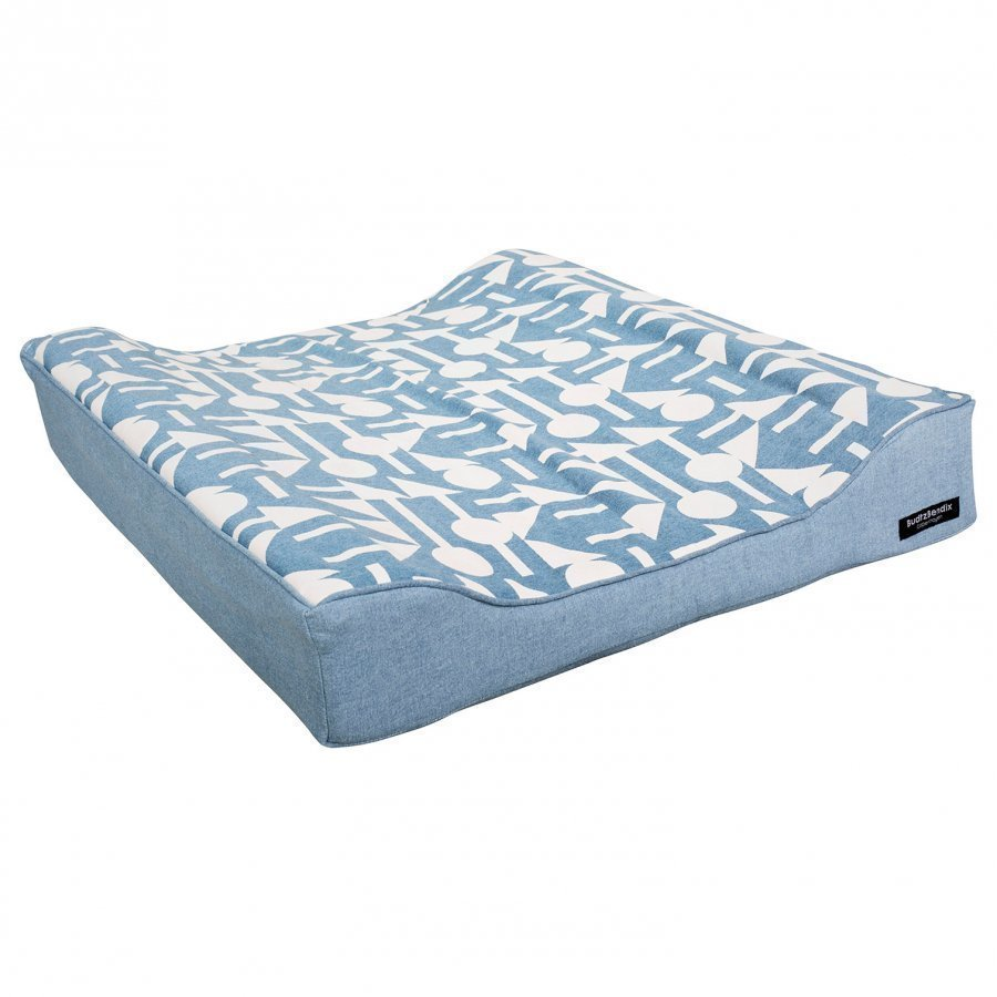 Budtzbendix Mattress Cover Totem Denim Hoitoalusta