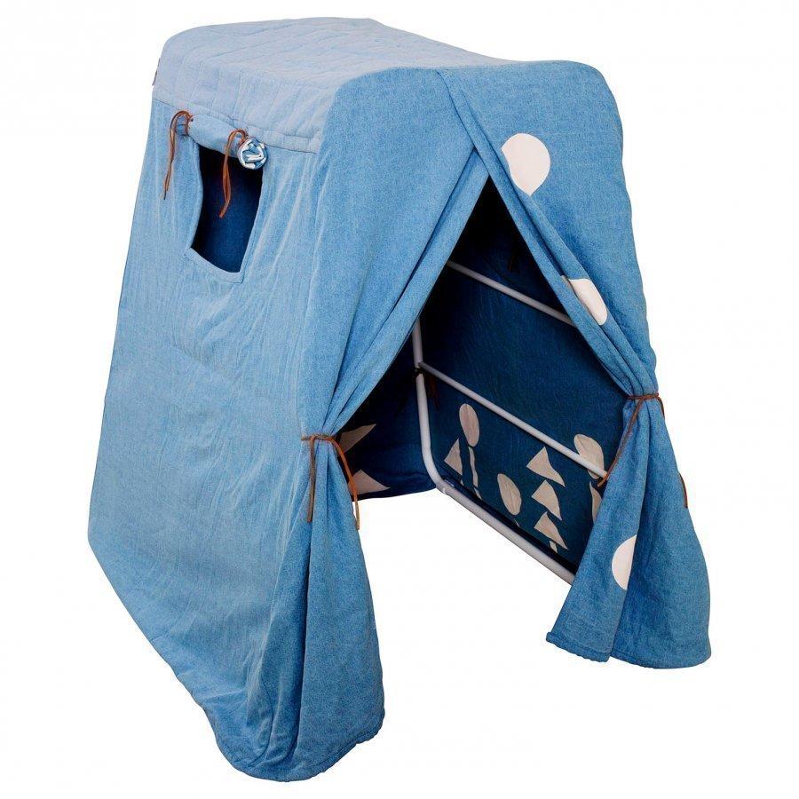 Budtzbendix Totem Tent + Frame Denim Blue Leikkiteltta