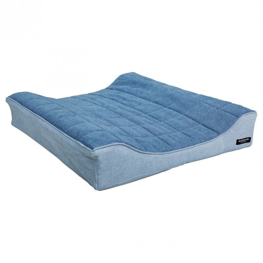Budtzbendix Tower Mattress Denim Hoitoalusta