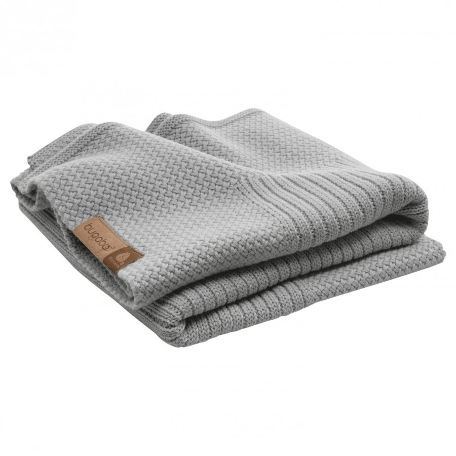 Bugaboo Wool Blanket Light Grey Melange Huopa
