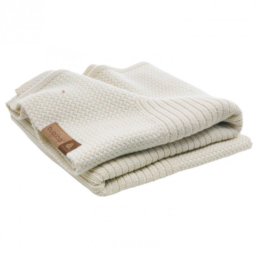 Bugaboo Wool Blanket Off White Melange Huopa
