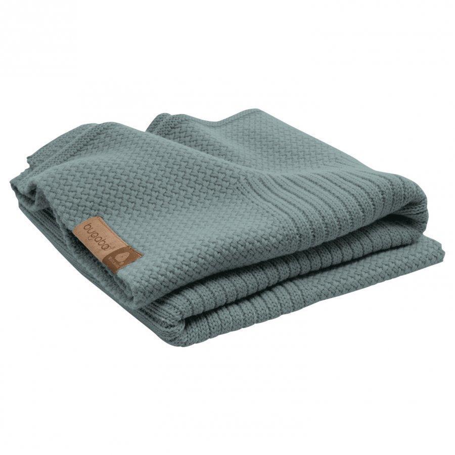 Bugaboo Wool Blanket Petrol Blue Melange Huopa
