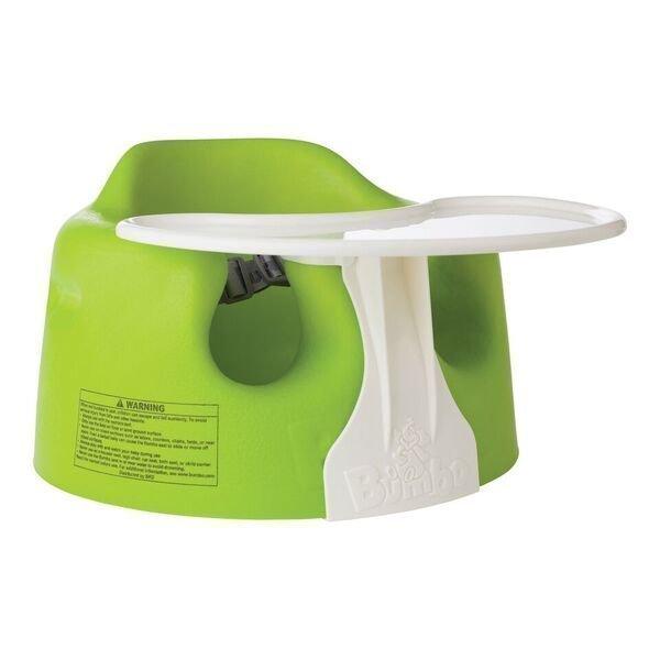 Bumbo Sitteri Lime + Play Tray Paketti