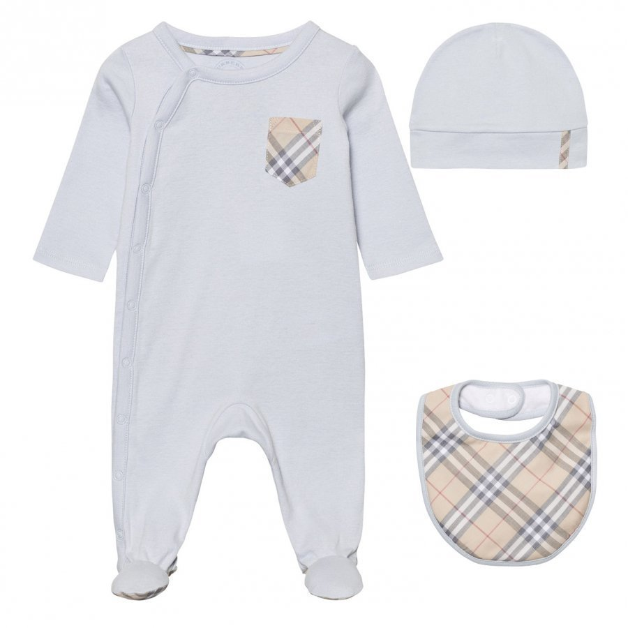 Burberry Baby Gift Set Ice Blue Lahjasetti