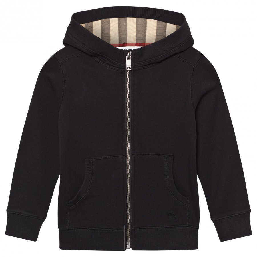 Burberry Black Branded Hoody Huppari