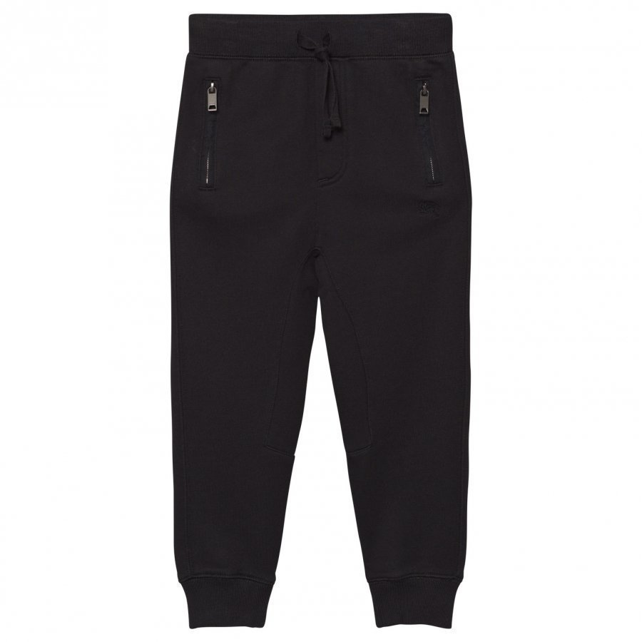 Burberry Black Branded Sweat Pants Verryttelyhousut