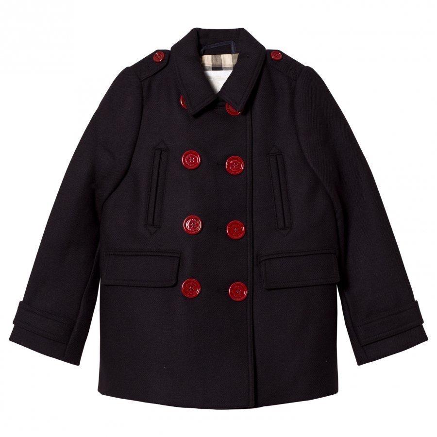 Burberry Cashmere Blend Pea Coat Talvitakki
