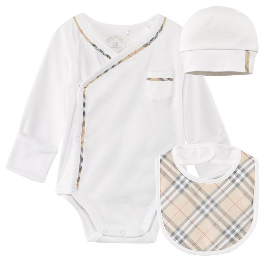 Burberry Check Cotton Vauvan Lahjasetti Body