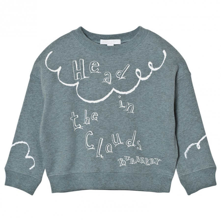 Burberry Head In The Clouds Sweatshirt Powder Blue Oloasun Paita