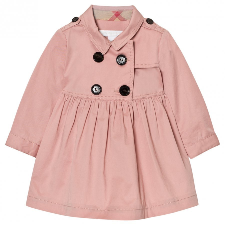 Burberry Lillybeth Trench Dress Pink Mekko