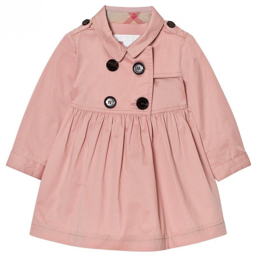 Burberry Lillybeth Trench Dress Pink Mekko